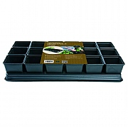 Garland Professional Vegetable Tray (18 x 9cm Sq Pots)