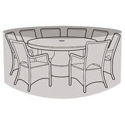 8 Seater Round Furniture Set Cover