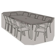 8-10 Seater Rectangular Furniture Set Cover