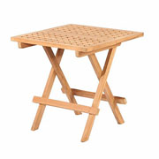 Bramblecrest Ludlow Square Folding Picnic Table