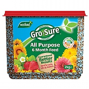 Westland Gro-Sure All Purpose 6 Month Feed 2kg