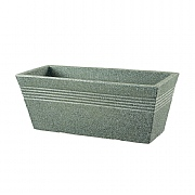 Stewart Garden Piazza Trough 60cm - Marble Green
