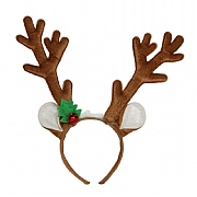Gisela Graham Reindeer Antler & Ears Hairband