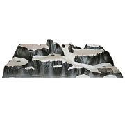 Christmas Village Mountain Display Base 120 x 40cm