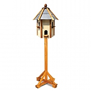 Tom Chambers Ripley Dovecote Slate Roof Bird Table