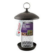 Black Steel Suet Energy Bites Feeder
