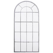 Arched Tall Outdoor Mirror