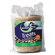 Peckish Treats Energy Cake Peanut & Mealworm 350g