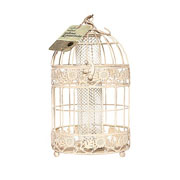 Antique Sunflower Feeder - Cream