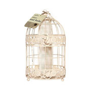 Antique Seed Feeder - Cream