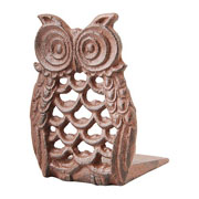 Cast Iron Owl Door Wedge
