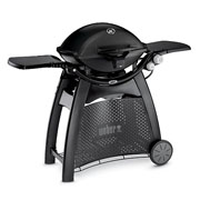 Weber Q3200 Gas Barbecue with Permanent Cart Black