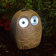 Smart Solar Jumbo Bright Eye Stony Owl