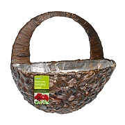 Water Hyacinth Wall Basket 40cm