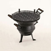 Landmann Cast Iron Barrel Barbecue