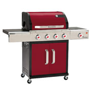 Landmann Triton 4 Burner Gas Barbecue Bordeaux