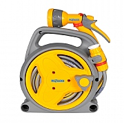 Hozelock Pico Reel with 10m Hose, Fittings & Spray Gun