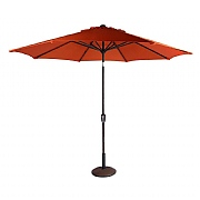 Supremo Orange 3m Riviera Deluxe Parasol