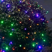 Smart Solar Multi Coloured String Lights - 50 LED