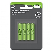 Smart Solar AAA Rechargeable Batteries - 4 Pack
