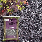 Kelkay Plum Slate 20mm Large Bag