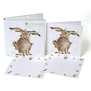 Wrendale 'Hare' Notecard Pack