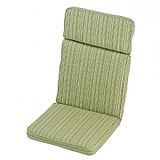 Cotswold Stripe High Back Recliner Cushion