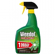 Weedol Fast Acting Weedkiller Ready To Use 1L