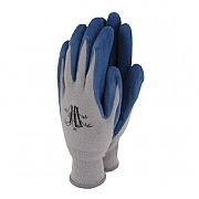 Town & Country Weedmaster Bamboo Hypo-Allergenic Gloves Navy - Large