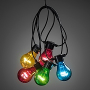 20 Multi Coloured LED Globe Lights