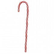 Decoris Red & White Candy Cane - 30cm