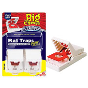 The Big Cheese Ultra Power Rat Traps Twinpack