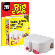 The Big Cheese Sealed & Safe Mouse Trap