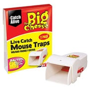 The Big Cheese Live Catch Mouse Traps Twinpack