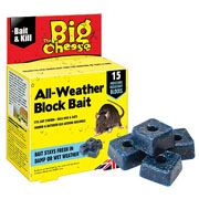 The Big Cheese All-Weather Block Bait  15 Blocks