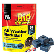 The Big Cheese All-Weather Block Bait  50 Blocks