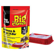 The Big Cheese Mouse & Rat Killer 6 Pasta Sachets