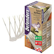 Defenders Bird Spikes 2 Meter 6 Pack
