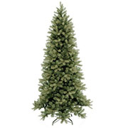 7.5ft Bayberry Spruce Slim Feel-Real Artificial Christmas Tree