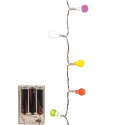 Lumineo 20 Multi Coloured LED Ball Lights (Battery Operated)