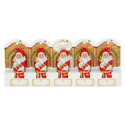 Lindt Mini Chocolate Santa's 50g