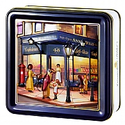 Embossed Annie Wild Shop Biscuit Tin 300g