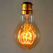 Classic B22 Quad Loop Filament Vintage Bulb (Bayonet Fitting)