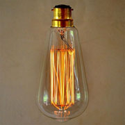 Edison B22 Squirrel Cage Filament Vintage Bulb (Bayonet Fitting)