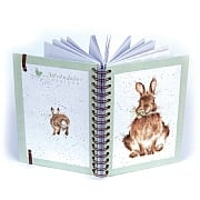 Wrendale 'Daisy Rabbit' A5 Spiral Notebook