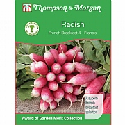 Thompson & Morgan Award of Garden Merit Radish French Breakfast 4 Francis