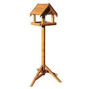 Bird Pantry Wooden Roof Bird Table