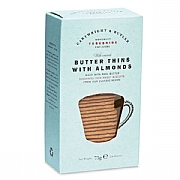Cartwright & Butler Butter Thins with Almonds 75g
