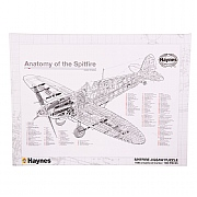Haynes Anatomy of the Spitfire Jigsaw Puzzle