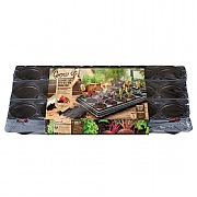 Gardman 18 Pot Growing Tray With Round Pots